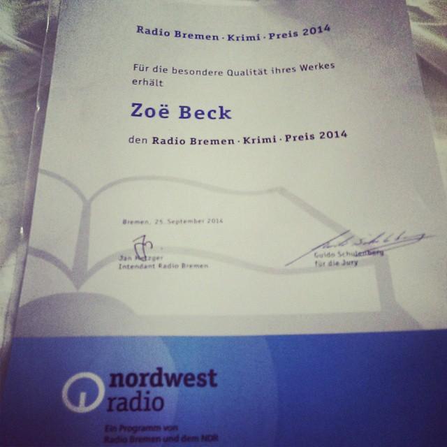 Krimipreis Radio Bremen